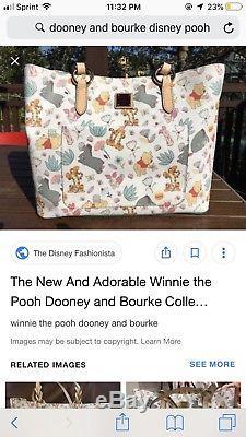 Dooney And Bourke Sac Fourre-tout Disney Disney Winnie L'ourson