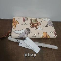 Dooney & Bourke Disney Winnie The Pooh Wristlet Wallet Eeyore Piglet Tigger