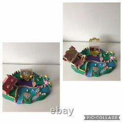 Énorme Polly Pocket 1990's Bluebird Bundle Disney Magical Movin & Winnie The Pooh