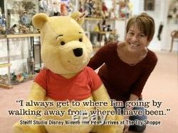 Enregistrer! 33 Steiff 2019 Studio Disney Winnie L'ourson Mohair 690600 Ltded 500 -new