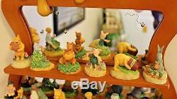 Ensemble À Pastilles Disney Lenox Winnie L'ourson Avec Tablette À Miroir Ensemble Complet