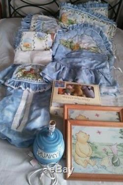 Ensemble De Berceau Classique Vintage Disney Winnie L'ourson, Literie, Chambre D'enfant 11 Pièces