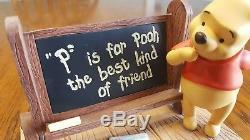 Ensemble De Bureau À Collectionner Winnie The Pooh & Friends Disney
