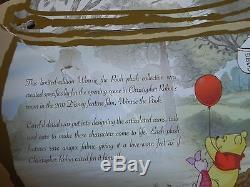 Ensemble Winnie L'ourson Édition Limitée Disney 2011 (le 300)
