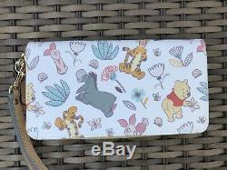 Euc Disney Dooney Et Bourke Winnie Le Portefeuille Winnie L'ourson Wrislet Tigger Eeyore & Pals A