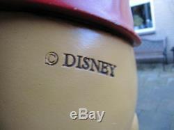 Extrêmement Rare! Walt Disney Winnie L'ourson Et Le Cochon Volant Sur La Statue De Parapluie