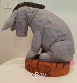 Figure Disney Figurine Statue Winnie L'ourson Bourriquet Grand Figue Rare Nouveau