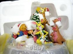 Figurine De Joyeux Noël De Winnie L'ourson Bradford Exchange Disney