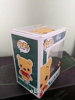 Figurine Funko Pop Disney Sdcc 2012 Exclusif Winnie L'ourson Ltd 480 Floqué Rare
