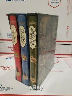 Folio Society Collection De Coffrets 3 Vol. Winnie L'ourson A. A. Milne Color Illustrated