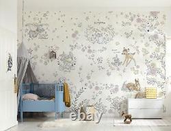 Fond D'écran Pour Bébé Chambre Winnie The Pooh Disney Mur Mural Taille Géante Brown