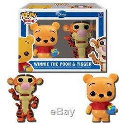 Funko Boîte Endommagée Winnie The Pooh & Tigger 2 Pop Mini Coffret De Figurines En Vinyle