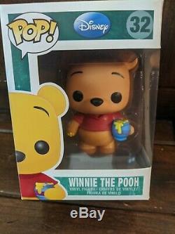 Funko Disney Pop Vinyle Winnie L'ourson 32 Véritable Authentique