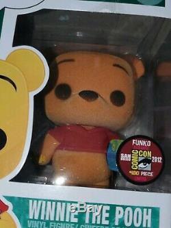 Funko Pop! 2012 Sdcc Floqués Winnie L'ourson Le 480 Pièces En Dur Stack Protector