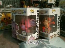 Funko Pop Disney Set 4 Exclusives Winnie L'ourson, Bourriquet, Tigrou, Heffalump