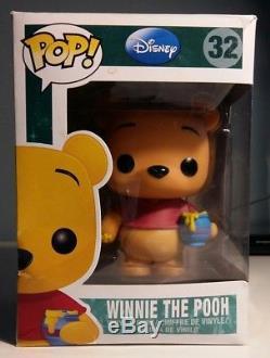 Funko Pop Disney Winnie L'ourson # 32 Rare Figure De Vinyle À La Retraite Endommagé