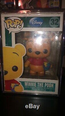 Funko Pop! Disney Winnie L'ourson Retraité Voutée Exclusif Endommagé Boîte / Fenêtre