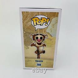 Funko Pop! Disney Winnie The Pooh #288 Tigger Sdcc 2017 Limited Edition Floqué