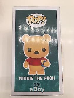 Funko Pop! Flocked Winnie The Pooh Sdcc 2012 Exclusive