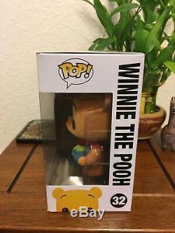 Funko Pop Sdcc 2012 Disney Winnie L'ourson Floqué Le 480 Exclusive