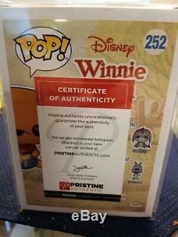 Funko Pop! Signé Par Jim Cummings. Winnie L'ourson Numéro 252