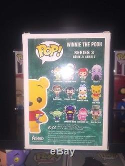 Funko Pop Store Sdcc 2012 Disney # 32 Winnie L'ourson Floqué Le 480 Piece Vhtf