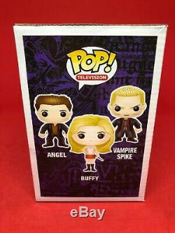 Funko Pop! Vinyle Vampire Spike Blessé Buffy Angel Hmw 3 Pack 2014 The Slayer