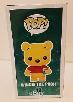 Funko Pop Winnie L'ourson # 32 Figure Retiré Vaulted Original Nib Disney