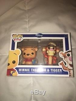 Funko Pop Winnie L'ourson Et Tigrou Mini Set # 3 Quelques Dommages Box