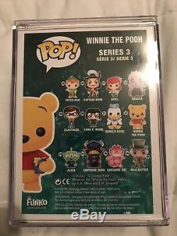 Funko Pop! Winnie The Pooh Disney, 2012 Sdcc, Flocked Limited 480 Pièces
