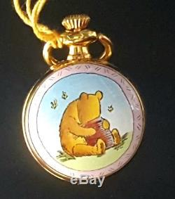 Halcyon Days Petite Montre De Poche Winnie L'ourson