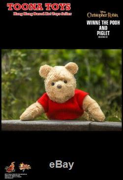 Hot Toys 1/6 Mms503 Christopher Robin Winnie L'ourson Et Le Porcinet Pré-commande