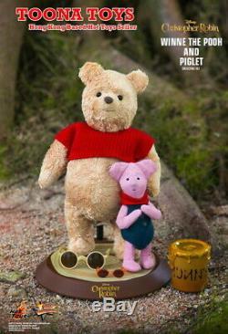 Hot Toys 1/6 Mms503 Christopher Robin Winnie L'ourson Et Le Porcinet Précommande