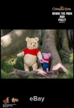 Hot Toys Christopher Robin Winnie L'ourson Et Le Porcinet Mms503 1/6 Nouveau