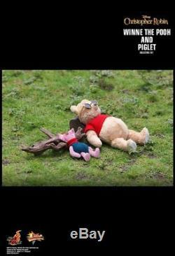 Hot Toys Christopher Robin Winnie L'ourson Et Le Porcinet Mms503 1/6 Nouveau Dernier