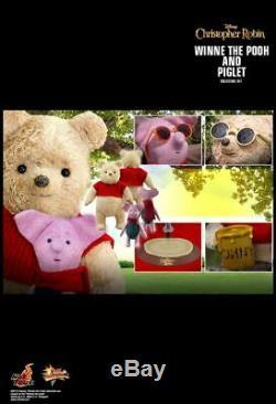 Hot Toys Christopher Robin- Winnie L'ourson Et Porcinet Collection Set Mms503