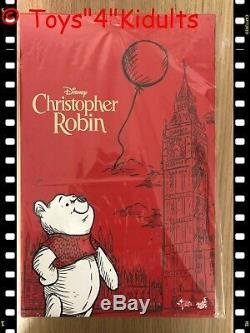 Hot Toys Mms 502 Christopher Robin Winnie L'ourson 1/6 24 CM Figurine Nouveau