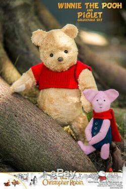 Hot Toys Mms 503 Christopher Robin Winnie L'ourson Set & Porcinet (set Of 2) Nouveau
