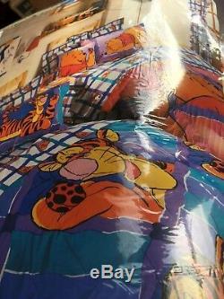 Incroyable Des Années 90 Nouveau Dans L'emballage Winnie The Pooh Baby Set De Couverture Pour Draps