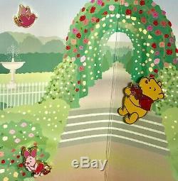 Japon Disney Store Pin 11404 Shibuya Juste Pooh Étage 2ème Anniversaire Set Rose