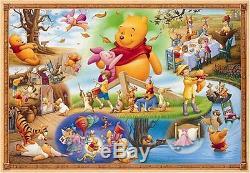Jigsaw Puzzle Winnie L'ourson Le Plus Petit Du Monde Et La Grande Tempête 1000 F / S