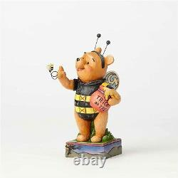 Jim Shore Disney Winnie The Pooh As Honey Bee 4057950 Figure Rare Nouveau