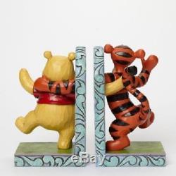 Jim Shore - Serre-livres Disney Traditions Tigger Et Winnie L'ourson Bookends Collec