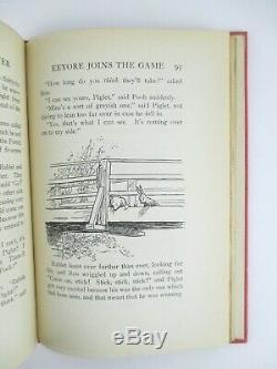 La Maison À Pooh Corner A. A. Milne + Ernest Shepard First American Edition 1928