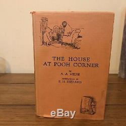 La Maison À Pooh Corner, A Milne (1928), U. K, True Première Édition