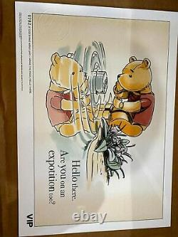 Lego All 5 Winnie The Pooh Limited Edition Prints Vip Sketches Intact
