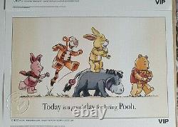 Lego Winnie The Pooh Vip Prints/sketch Ensemble Complet De Cinq