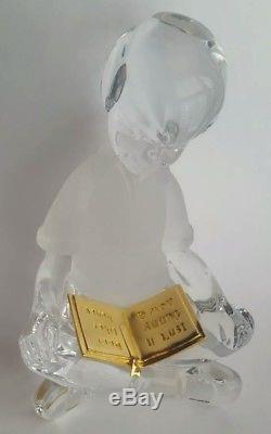 Lenox Disney Collection Winnie L'ourson Cristal Christopher Robin Avec Livre D'or