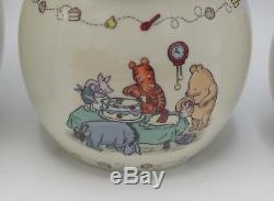 Lenox Disney Winnie L'ourson - Ensemble De 3 Récipients En Pot De Miel, 2005