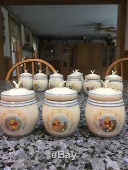 Lenox Ensemble De Pots À Épices Winnie L'ourson. Pooh Pantry Spice Jar Set. 19 Pots. Menthe